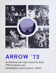 Page 5, 1972 Edition, Archbishop Ryan High School for Boys - Arrow Yearbook (Philadelphia, PA) online yearbook collection