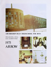 Page 5, 1975 Edition, Archbishop Ryan High School for Boys - Arrow Yearbook (Philadelphia, PA) online yearbook collection