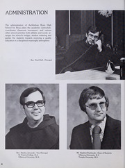 Page 12, 1978 Edition, Archbishop Ryan High School for Boys - Arrow Yearbook (Philadelphia, PA) online yearbook collection