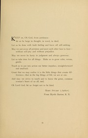 Page 13, 1931 Edition, Medical College Hospital School of Nursing - Cap and Candle Yearbook (Philadelphia, PA) online yearbook collection