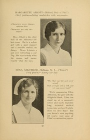 Page 15, 1931 Edition, Medical College Hospital School of Nursing - Cap and Candle Yearbook (Philadelphia, PA) online yearbook collection