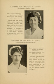 Page 17, 1931 Edition, Medical College Hospital School of Nursing - Cap and Candle Yearbook (Philadelphia, PA) online yearbook collection