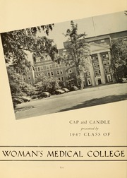 Page 6, 1947 Edition, Medical College Hospital School of Nursing - Cap and Candle Yearbook (Philadelphia, PA) online yearbook collection