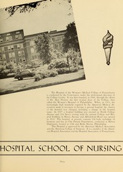 Page 7, 1947 Edition, Medical College Hospital School of Nursing - Cap and Candle Yearbook (Philadelphia, PA) online yearbook collection