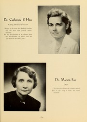 Page 9, 1947 Edition, Medical College Hospital School of Nursing - Cap and Candle Yearbook (Philadelphia, PA) online yearbook collection