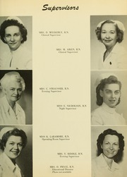 Page 13, 1953 Edition, Medical College Hospital School of Nursing - Cap and Candle Yearbook (Philadelphia, PA) online yearbook collection