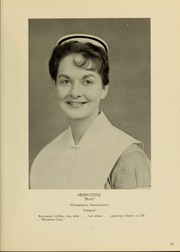 Page 17, 1961 Edition, Medical College Hospital School of Nursing - Cap and Candle Yearbook (Philadelphia, PA) online yearbook collection