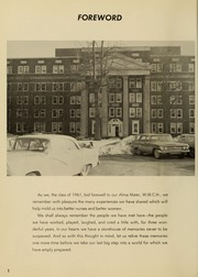 Page 6, 1961 Edition, Medical College Hospital School of Nursing - Cap and Candle Yearbook (Philadelphia, PA) online yearbook collection