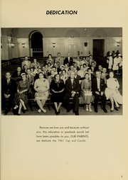 Page 7, 1961 Edition, Medical College Hospital School of Nursing - Cap and Candle Yearbook (Philadelphia, PA) online yearbook collection