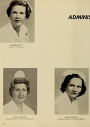 Page 8, 1961 Edition, Medical College Hospital School of Nursing - Cap and Candle Yearbook (Philadelphia, PA) online yearbook collection