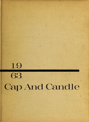 1963 Edition, Medical College Hospital School of Nursing - Cap and Candle Yearbook (Philadelphia, PA)