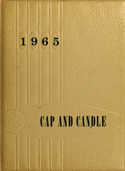 1965 Edition, Medical College Hospital School of Nursing - Cap and Candle Yearbook (Philadelphia, PA)