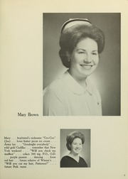 Page 13, 1966 Edition, Medical College Hospital School of Nursing - Cap and Candle Yearbook (Philadelphia, PA) online yearbook collection
