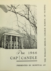 Page 5, 1966 Edition, Medical College Hospital School of Nursing - Cap and Candle Yearbook (Philadelphia, PA) online yearbook collection