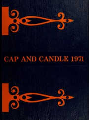 1971 Edition, Medical College Hospital School of Nursing - Cap and Candle Yearbook (Philadelphia, PA)