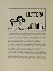 Page 12, 1927 Edition, Hahnemann Hospital School of Nursing - Hahnoscope Yearbook (Philadelphia, PA) online yearbook collection
