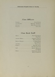 Page 16, 1933 Edition, Hahnemann Hospital School of Nursing - Hahnoscope Yearbook (Philadelphia, PA) online yearbook collection