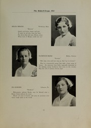 Page 17, 1933 Edition, Hahnemann Hospital School of Nursing - Hahnoscope Yearbook (Philadelphia, PA) online yearbook collection
