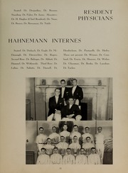 Page 15, 1941 Edition, Hahnemann Hospital School of Nursing - Hahnoscope Yearbook (Philadelphia, PA) online yearbook collection