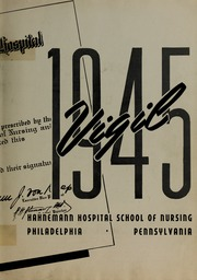 Page 7, 1945 Edition, Hahnemann Hospital School of Nursing - Hahnoscope Yearbook (Philadelphia, PA) online yearbook collection