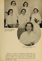 Page 15, 1954 Edition, Hahnemann Hospital School of Nursing - Hahnoscope Yearbook (Philadelphia, PA) online yearbook collection