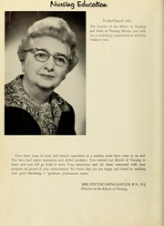Page 10, 1962 Edition, Hahnemann Hospital School of Nursing - Hahnoscope Yearbook (Philadelphia, PA) online yearbook collection