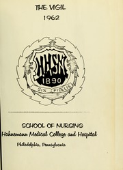 Page 5, 1962 Edition, Hahnemann Hospital School of Nursing - Hahnoscope Yearbook (Philadelphia, PA) online yearbook collection