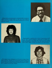 Page 11, 1982 Edition, Hahnemann University School of Allied Health - Horizons Yearbook (Philadelphia, PA) online yearbook collection