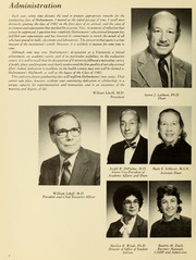 Page 8, 1982 Edition, Hahnemann University School of Allied Health - Horizons Yearbook (Philadelphia, PA) online yearbook collection