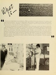 Page 7, 1985 Edition, Hahnemann University School of Allied Health - Horizons Yearbook (Philadelphia, PA) online yearbook collection
