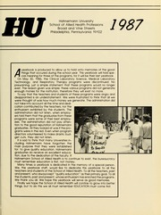 Page 5, 1987 Edition, Hahnemann University School of Allied Health - Horizons Yearbook (Philadelphia, PA) online yearbook collection