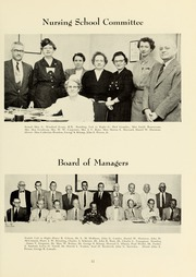 Page 15, 1955 Edition, Williamsport Hospital School of Nursing - Oak Yearbook (Williamsport, PA) online yearbook collection