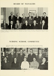 Page 15, 1961 Edition, Williamsport Hospital School of Nursing - Oak Yearbook (Williamsport, PA) online yearbook collection