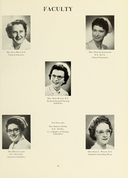 Page 17, 1961 Edition, Williamsport Hospital School of Nursing - Oak Yearbook (Williamsport, PA) online yearbook collection
