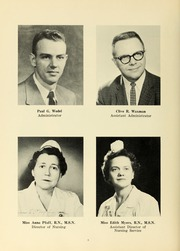Page 12, 1963 Edition, Williamsport Hospital School of Nursing - Oak Yearbook (Williamsport, PA) online yearbook collection