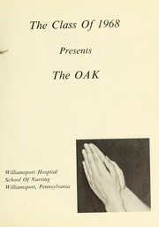 Page 5, 1968 Edition, Williamsport Hospital School of Nursing - Oak Yearbook (Williamsport, PA) online yearbook collection