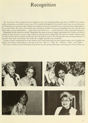 Page 9, 1982 Edition, Williamsport Hospital School of Nursing - Oak Yearbook (Williamsport, PA) online yearbook collection