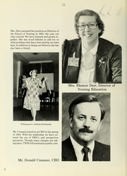 Page 12, 1986 Edition, Williamsport Hospital School of Nursing - Oak Yearbook (Williamsport, PA) online yearbook collection