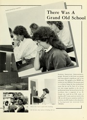 Page 11, 1987 Edition, Williamsport Hospital School of Nursing - Oak Yearbook (Williamsport, PA) online yearbook collection