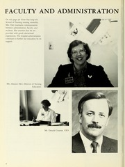 Page 12, 1987 Edition, Williamsport Hospital School of Nursing - Oak Yearbook (Williamsport, PA) online yearbook collection