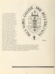 Page 10, 1962 Edition, Villa Maria College - Yearbook (Erie, PA) online yearbook collection