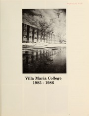 Page 3, 1986 Edition, Villa Maria College - Yearbook (Erie, PA) online yearbook collection
