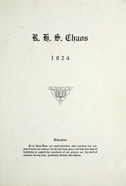 Page 11, 1924 Edition, Rensselaer High School - Chaos Yearbook (Rensselaer, IN) online yearbook collection
