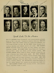 Page 12, 1940 Edition, Rensselaer High School - Chaos Yearbook (Rensselaer, IN) online yearbook collection