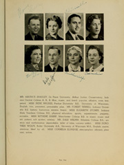 Page 13, 1940 Edition, Rensselaer High School - Chaos Yearbook (Rensselaer, IN) online yearbook collection