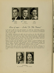 Page 14, 1940 Edition, Rensselaer High School - Chaos Yearbook (Rensselaer, IN) online yearbook collection