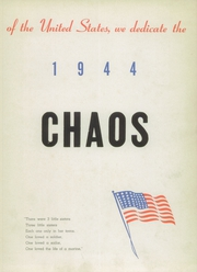 Page 7, 1944 Edition, Rensselaer High School - Chaos Yearbook (Rensselaer, IN) online yearbook collection