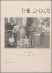 Page 6, 1947 Edition, Rensselaer High School - Chaos Yearbook (Rensselaer, IN) online yearbook collection