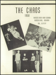 Page 7, 1950 Edition, Rensselaer High School - Chaos Yearbook (Rensselaer, IN) online yearbook collection