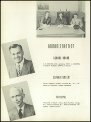 Page 8, 1950 Edition, Rensselaer High School - Chaos Yearbook (Rensselaer, IN) online yearbook collection